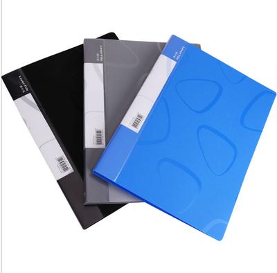 得力5451商务A4单双强力夹插袋长押夹板夹资料夹整理夹