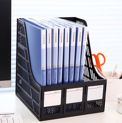 得力A4 ?10/20/30/40/60/80/100页透明插页夹插袋文件夹多层资料册60页加厚活页档案册