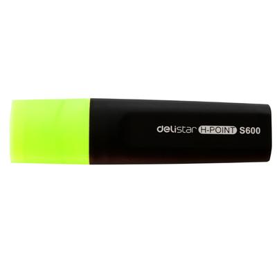 得力S600荧光笔 重点笔彩色荧光笔标记笔醒目笔 学生办公文具
